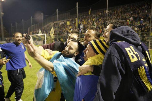 Un selfie per celebrare il momento (foto Zeppilli)