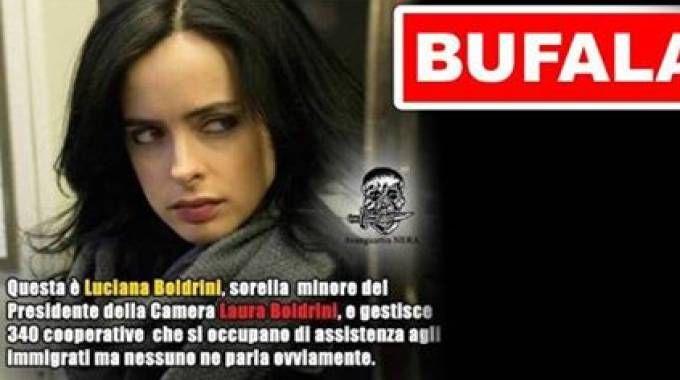 La fake news sulla sorella di Laura Boldrini (Dire)