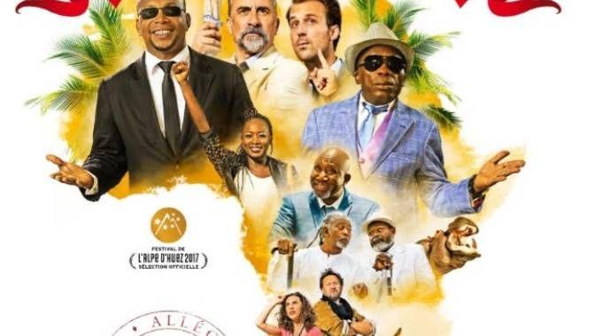 "La locandina del film """"Bienvenue au Gondwana"""