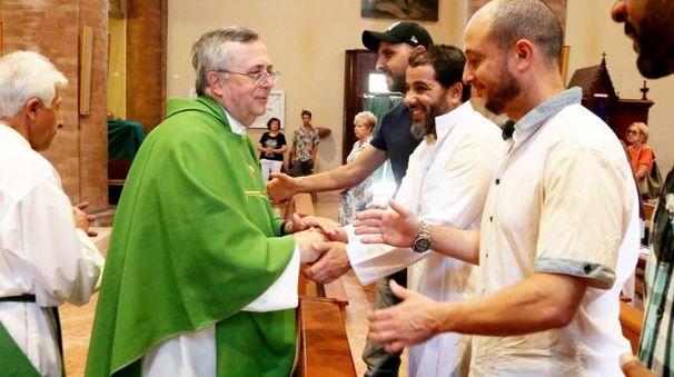 La partecipazione dei musulmani cesenati alla messa in Duomo