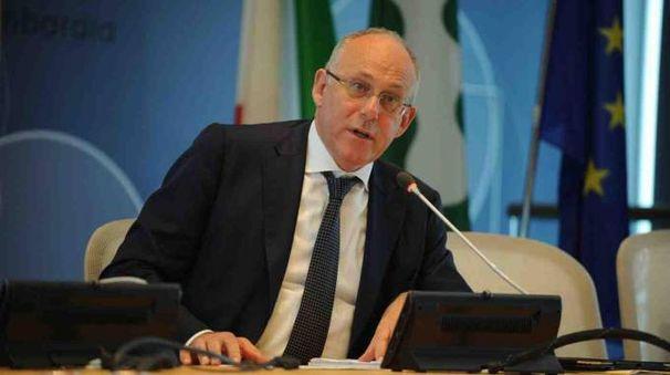 L'assessore al Commercio Mauro Parolini
