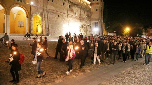 Cesena, oltre mille persone alla Via Crucis con il vescovo