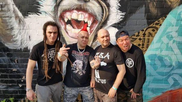Mezzago, la punk rock band degli Exploited