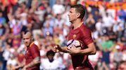 Dzeko a segno per la Roma (La Presse)