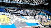 La coreografia della Curva Nord dell'Inter (Afp)