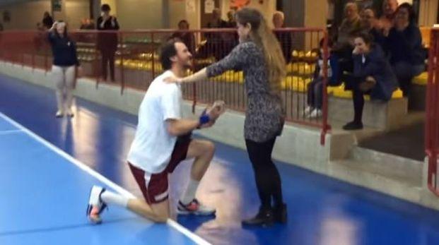 La proposta di matrimonio al PalaTacca