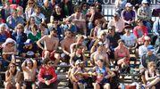 E' già ora di beach games (Foto Migliorini)