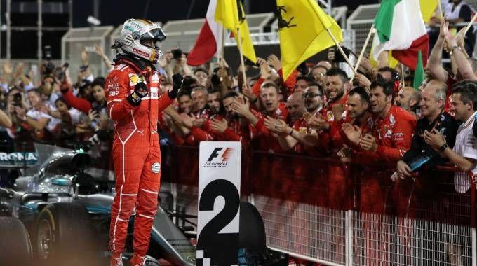 F1, Gp Barhain, trionfa Vettel (Afp)