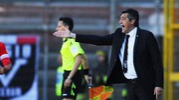 L'allenatore dell'Ascoli, Alfredo Aglietti (foto LaPresse)