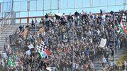 I tifosi dell'Ascoli a Perugia (foto LaPresse)