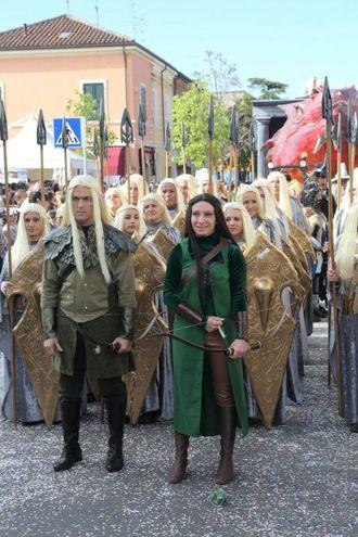 Gambettola, lo Hobbit (foto Ravaglia)