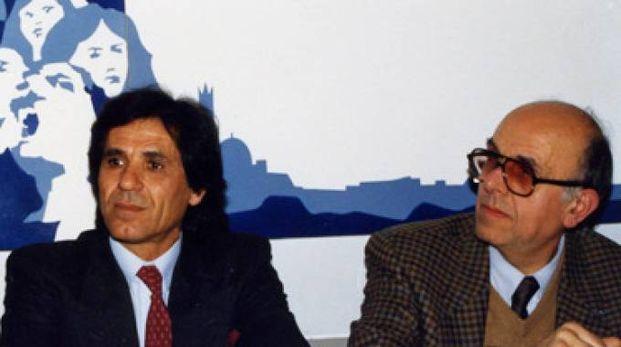 Aceto con Angelo Cortecci (foto dal sito della Tartuca): così Castelvecchio tornò al centro delle strategie paliesche