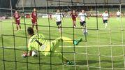 Cesena-Spezia 1-0, il gol di Ciano su rigore (foto Ravaglia)
