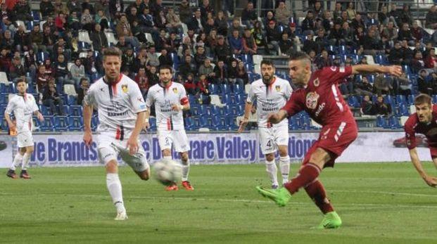Fra Reggiana e Gubbio è finita 1-1 (foto Artioli)