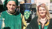 La sfilata del rione Piazza (foto Cappelli)