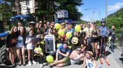 La sfilata del rione Casone, quarto con 103 punti (foto Cappelli)