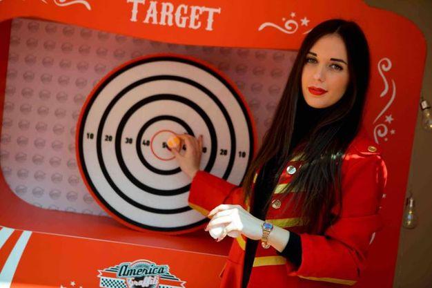 Il gioco Target, tiro a bersaglio