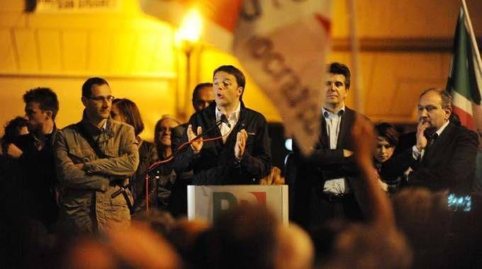 Matteo Renzi a Imola nel 2013