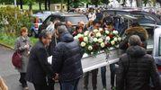 L'arrivo della bara di Federica Monica Ravì (Foto Artioli)