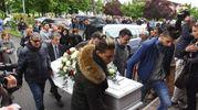 """Don Angelo Orlandini: """"Dobbiamo fare come lei, amare la vita"""" (foto Artioli)"""