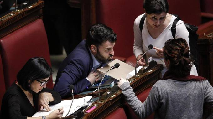 Biotestamento, la discussione in Aula (Ansa)