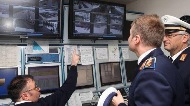 La Sala operativa della Municipale (Fotoprint)