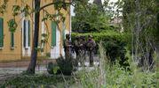 Caccia a Igor-Norbert, il blitz in un casolare a Marmorta (Foto Businesspress)
