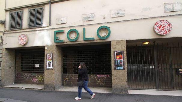 L'ex cinema Eolo (foto Umberto Visintini/New Pressphoto)