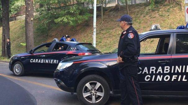 Carabinieri in servizio