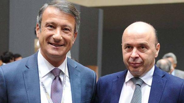 IN CARICA Il direttore generale Giuseppe Salvini e il presidente Andrea Sereni