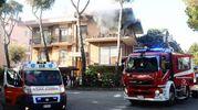 E' stato necessario l'intervento dei vigili del fuoco (foto Migliorini)
