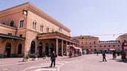 Il piazzale della stazione ferroviaria (FotoSchicchi)