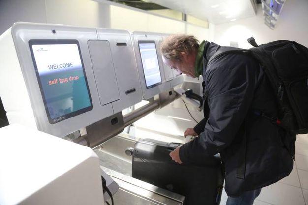 SITA è fornitore a livello globale di soluzioni di ultima generazione per il bag drop (foto Schicchi)