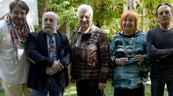 I protagonisti della reunion a Ferrara (foto BusinessPress)