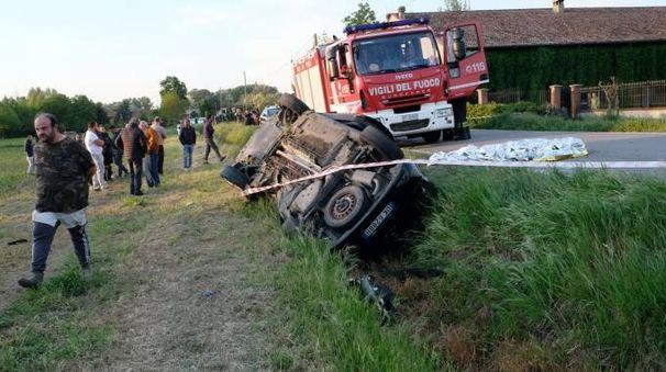 Il tragico incidente a Borgo San Giacomo (Fotolive)