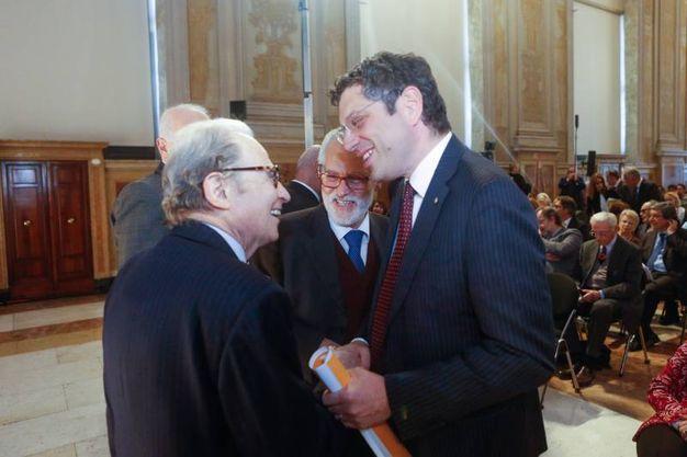 Ubertini e Sibani (Foto Schicchi)