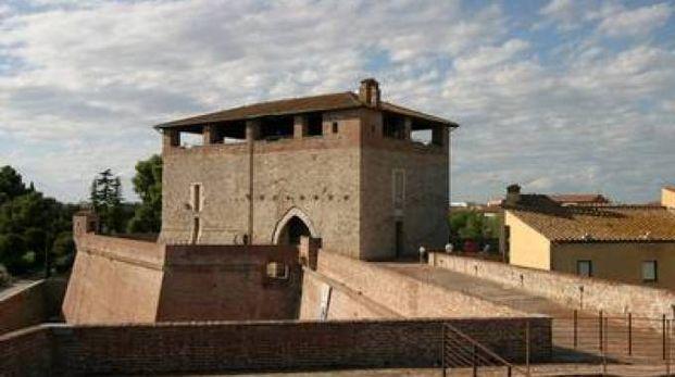 Il Cassero senese sulle mura di Grosseto