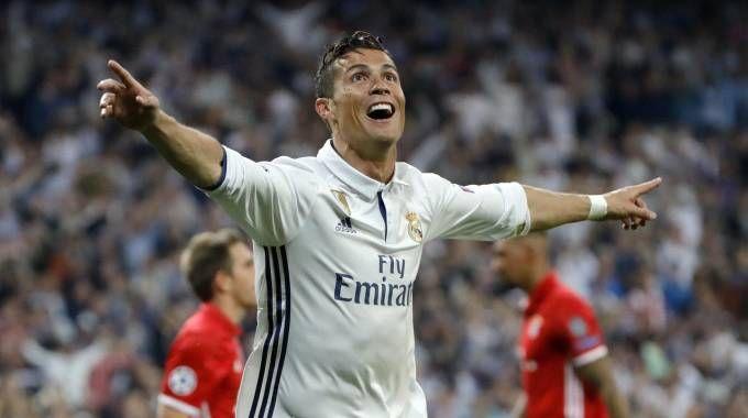 Cristiano Ronaldo, attaccante del Real Madrid (Ansa)