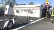 E' successo intorno alle 7.40 sulla A52 Tangenziale nord Milano, nel tratto tra Baranzate e il bivio con il Raccordo A8 Fiera Milano