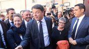 """""""Oggi qui abbiamo incontrato una mamma, Alice Pignatti, non del Pd, che ha inventato partendo da niente una petizione con 35 mila firme e che ha aiutato la Regione Emilia Romagna a scrivere una legge sui vaccini degna di questo tema"""" (Foto Ravaglia)"""