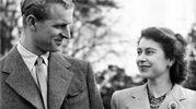 Con il principe Filippo durante la luna di miele (Olycom)