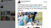 Il tweet di Malagò