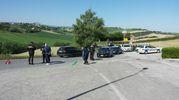 Il ciclista Michele Scarponi è morto mentre si allenava a Filottrano, suo paese natale (foto Santini)
