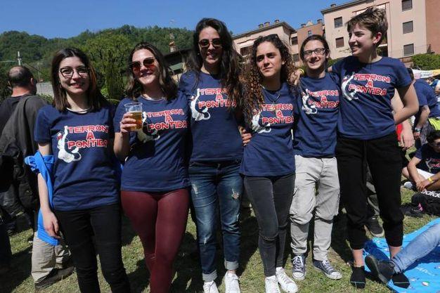 Concerto antirazzista promosso dai centri sociali napoletani a Pontida, città simbolo della Lega
