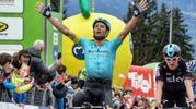 L'ultima vittoria di Michele Scarponi, al Tour of the Alps, qualche giorno prima di morire nell'incidente a Filottrano
