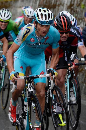 Al Giro d'Italia del 2014 (foto LaPresse)