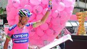 Al Giro d'Italia nel 2013 (foto LaPresse)