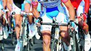 Il campione Michele Scarponi