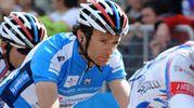Il campione di ciclismo Michele Scarponi, 37 anni, è morto schiantandosi contro un furgone mentre si allenava a Filottrano  (Foto Calavita)