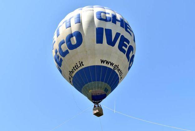 Protagoniste le meravigliose mongolfiere (foto LaPresse)